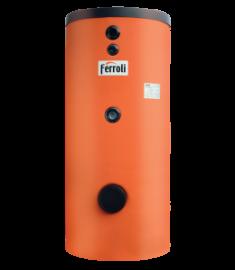 Boiler cu 2 serpentine Ferroli ECOUNIT 300-2 WB 300l