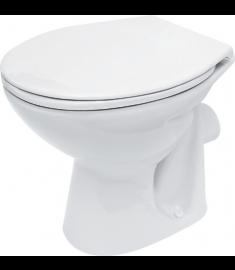Vas WC Cersanit monobloc cu iesire laterala President 10